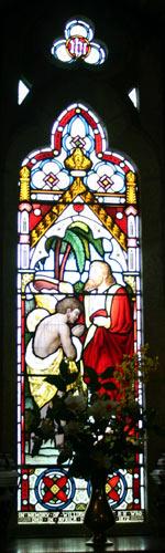 Altar - left panel