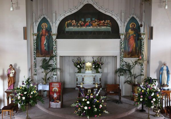 Altar 2/6/12