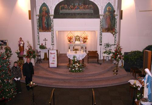 Christmas Altar 2008