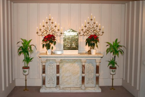 Christmas Altar 2009