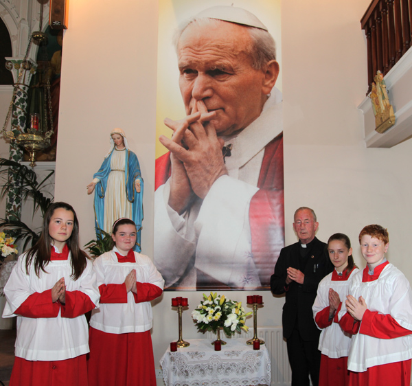 Shrine to John Paul 11