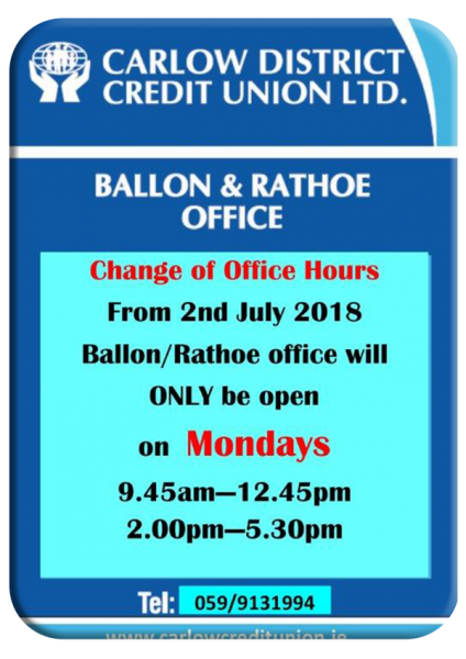 Ballon office change of hours 1st July 2018 (002) copy