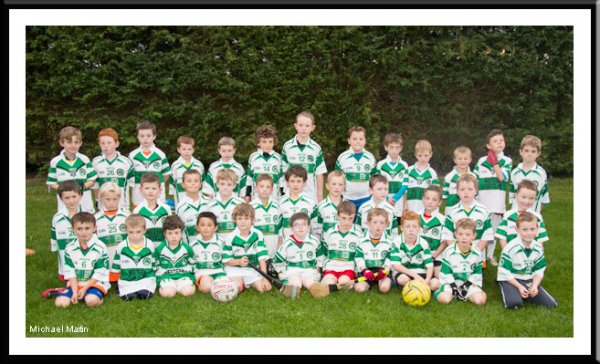 U8 hurling and football