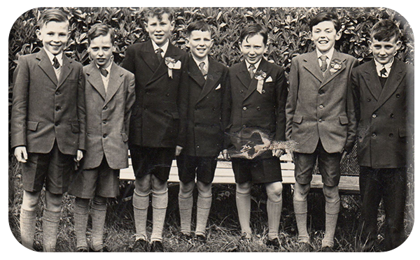 Ballon Confirmation 1958