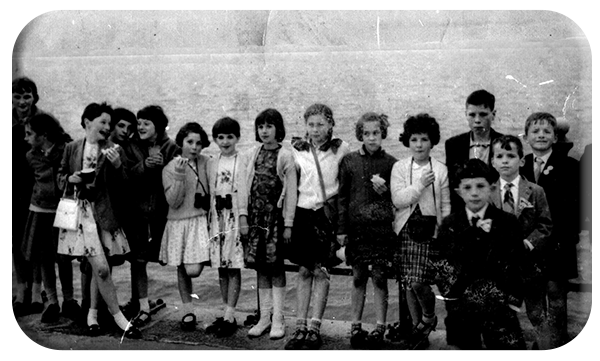 Rathoe School Outing to Dun Laoghaire 1967