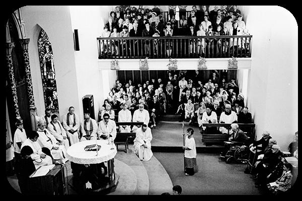 Re-Opening of Ballon Church 1978